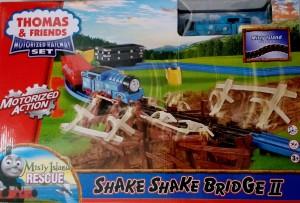 Jaibros Thomas and Friends shake Bridge Motorized Railway Adventure Train Set