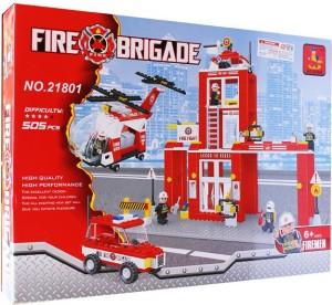ToysBuggy Fire Brigade Blocks 21801