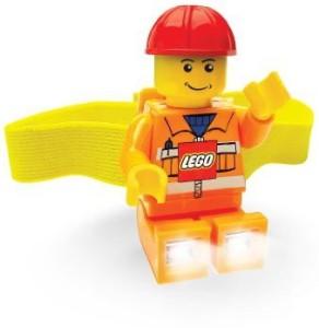Lego City Head Lamp Construction Worker