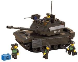 Army Sluban Leading Tank