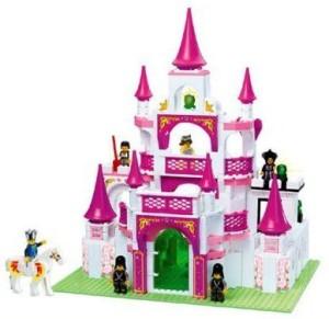Sluban Girl'S Dream Castle 508 Pieces Building Set