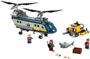 Lego Deep Sea Helicopter