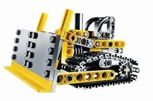 Lego Technic Mini Bulldozer 8259
