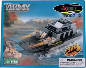 Adraxx DIY Hobby 3D Fighter Warship Model Assembling Kit