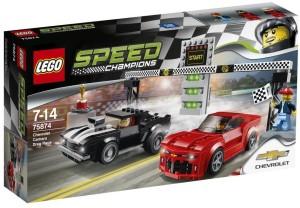 Lego Chevrolet Camaro Drag Race