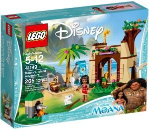 Lego Moana's Island Adventure
