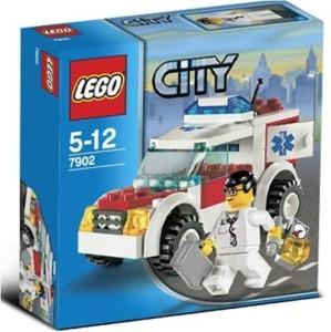 Lego City Doctor'S Car
