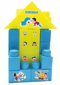 Kreative Kids Doraemon Small Doll House Blocks Construction Set For Kids