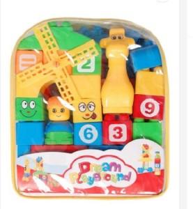 kt kashish toys Kashish playfull blocks 9 inchMulticolor