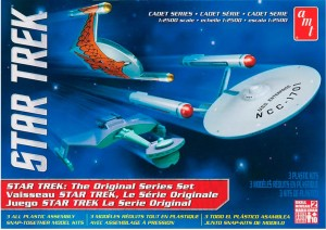 AMT USA 1/2500 Star Trek Cadet Series TOS Era Ships Model Set