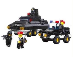 Sluban Armored Patrol 311 Piece Building Set