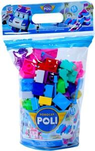Montez Robocar Poli - Block Set 68pcs