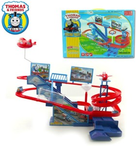 Powerpak Thomas & Friends Racing Track for Train with Music Sound Led Light Toy for Kids age 3+ (A333-79)