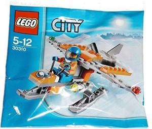 Lego City Arctic Scout Mini Plane39 Piece Polybag Set30310