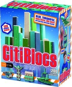 Citi Blocs Citiblocs 200 Pcs Cool Colors