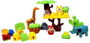 Wish Kart Educational Jungle Blocks 22 Pcs