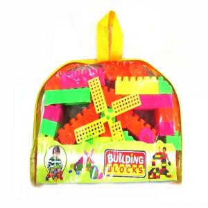 DCS Kids Building Blocks(75Pcs,Multicolor)