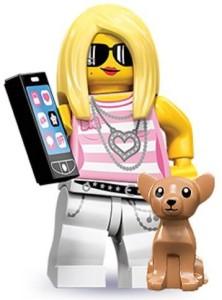 Lego 71001 Series 10 Mini Trendsetter