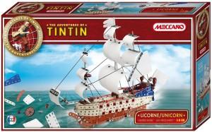 Meccano The Adventures of Tintin-Unicorn