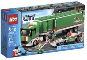 Lego City 60025 Grand Prix Truck Building Set