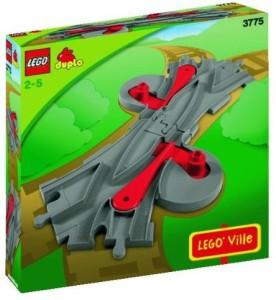 Lego Duplo 3775 Train Switch Track