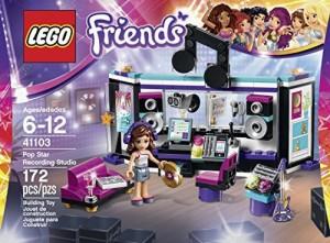 Lego Friends 41103 Pop Star Recording Studio Building Kit