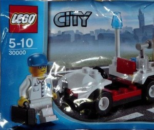 Lego City Doctor'S Car (Bagged)