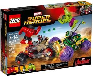 Lego Hulk vs Red Hulk