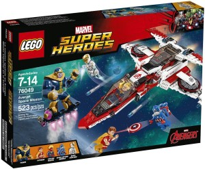 Lego Avenjet Space Mission