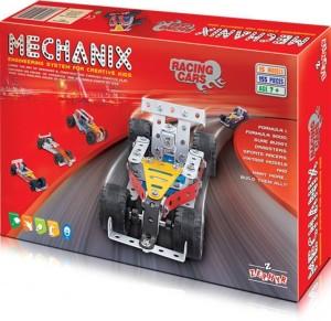 Royle Katoch Engineering System For Creative Kids Metal Mechanix Racing Cars (Multicolor)