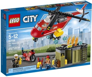 Lego Fire Response Unit