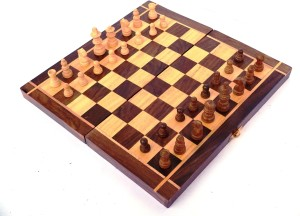 Woodpedlar 12 Folding Chess Set With Coins Che 12 Inch Chess Board