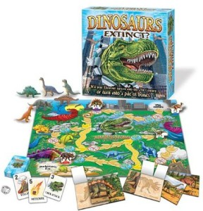 Lost Valley Of The Dinosaurs Board Game