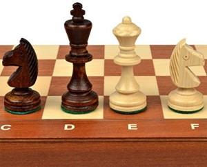 Sunrise Handicrafts Tournament No 3 Staunton Chess Set 136 Board