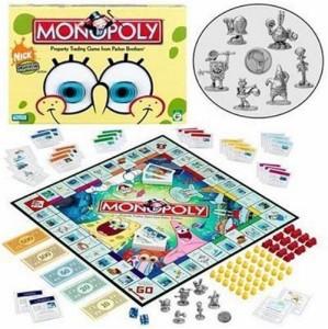 Monopoly spongebob squarepants 2005 edition board game 100.