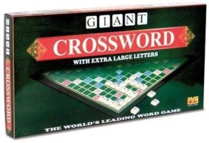 Giftoscope Giant Crossword With Extra Large Letters Board Game