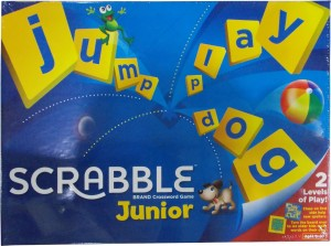 Mattel Junior Scrabble Crossword Board Game