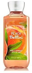 Bath Body Works Shea Vitamin E Shower Gel Peach Bellini 296 Ml Best