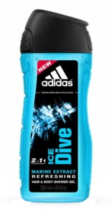 2dc2d2d0e477 Adidas Ice Dive Shower Gel 250 ml Best Price in India