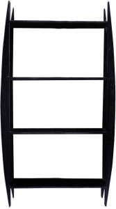 La Stella 10012 Solid Wood Open Book Shelf