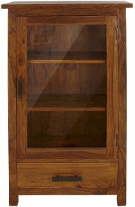 The Attic Solid Wood Close Book Shelf