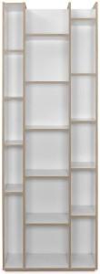 @home by Nilkamal Caper Engineered Wood Open Book Shelf