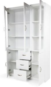 HomeTown Legacy Engineered Wood Semi-Open Book Shelf