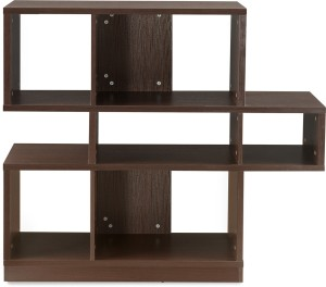 @home by Nilkamal Hudson Engineered Wood Open Book Shelf