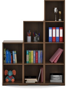 Spacewood Engineered Wood Open Book Shelf
