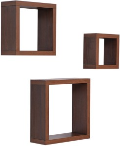 Amour Solid Wood Open Book Shelf