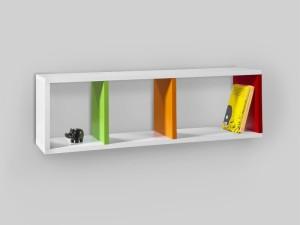Kingscrafts KC-BS21 Solid Wood Open Book Shelf