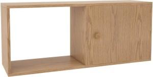 Housefull Engineered Wood Semi-Open Book Shelf