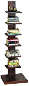 Ringabell Erect Solid Wood Open Book Shelf