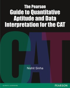 The Pearson Guide To Quantitative Aptitude And Data Interpretation For The CAT price comparison at Flipkart, Amazon, Crossword, Uread, Bookadda, Landmark, Homeshop18